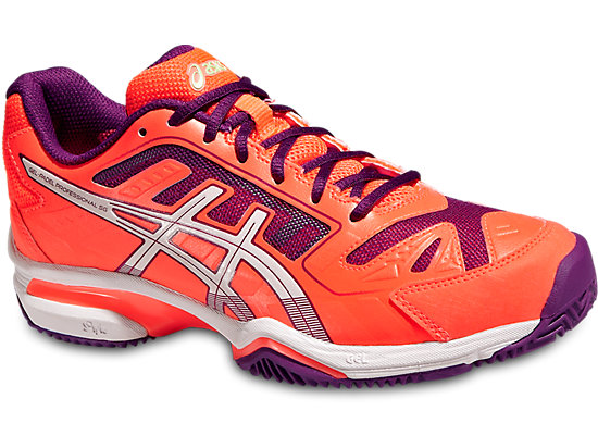 GEL-PADEL PROFESSIONAL 2 SG FLASH CORAL/WHITE/PLUM 3 FR