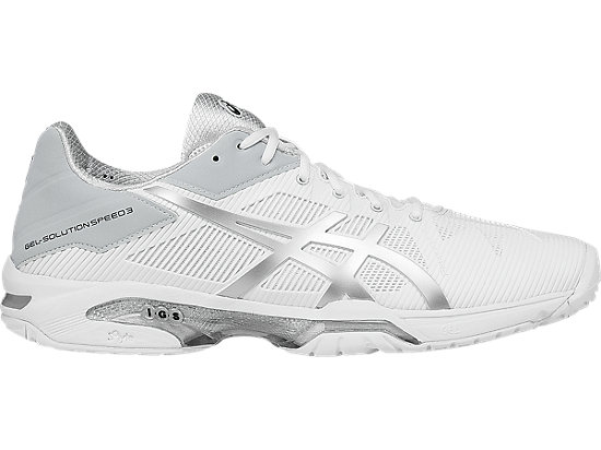 3d914b8fcf GEL-SOLUTION SPEED 3 | MEN | WHITE/SILVER | ASICS UAE