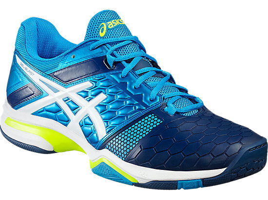 GEL-BLAST 7 BLUE JEWEL/WHITE/SAFETY YELLOW 7
