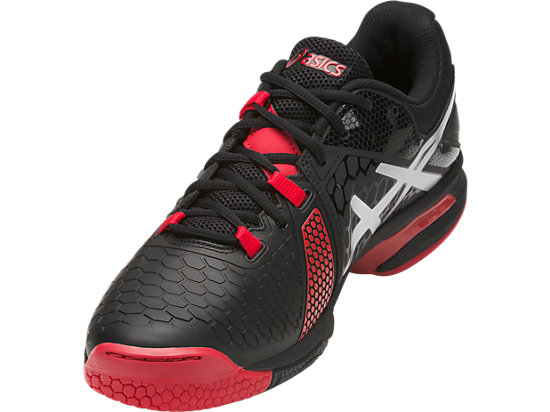 GEL-BLAST 7 BLACK/SILVER/PRIME RED