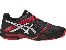 GEL-BLAST 7, Black/Silver/Prime Red
