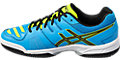 GEL-PADEL TOP 2 SG:DIVA BLUE/BLACK/SAFETY YELLOW