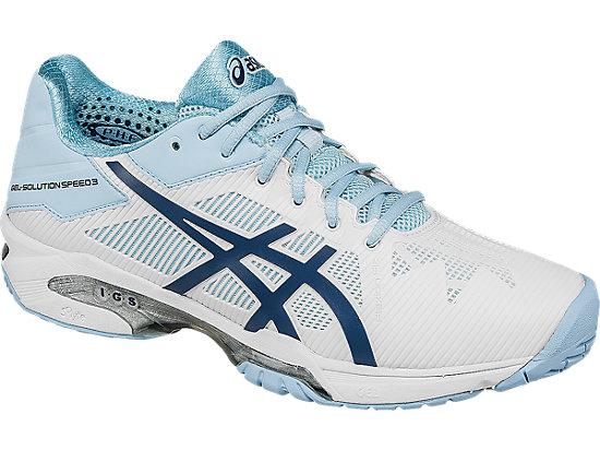 GEL-Solution Speed 3 White/Blue Steel/Crystal Blue 7
