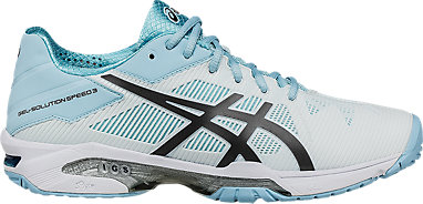 624cdd80fb GEL-Solution Speed 3 | WOMEN | White/Blue Steel/Crystel Blue | ASICS US