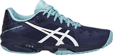 5393c4fe07 GEL-Solution Speed 3 | WOMEN | Indigo Blue/White/Porcelain Bl | ASICS US