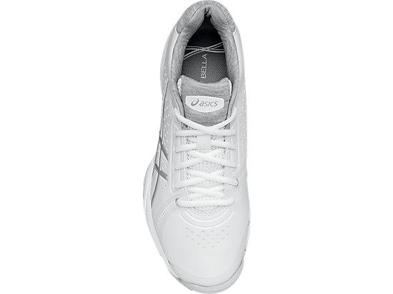 GEL-Court Bella White/Silver/White 23