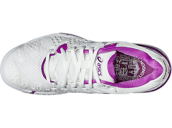 GEL-RESOLUTION 6 L.E. LONDON WHITE/SILVER/PURPLE 19