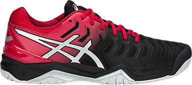 1fdf8bc866cd GEL-RESOLUTION 7 | MEN | Black/Silver | ASICS US
