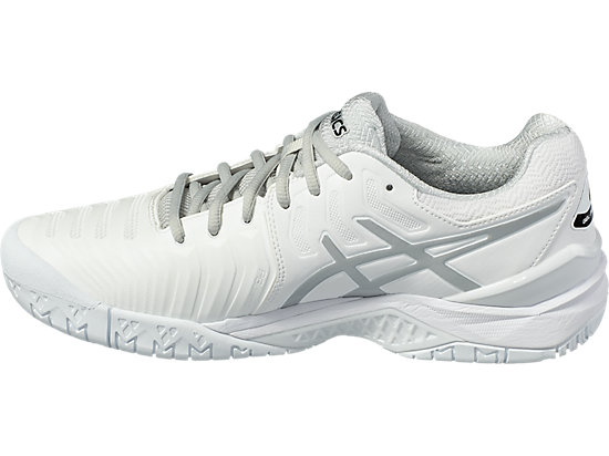 GEL-Resolution 7 für Herren WHITE/SILVER 7