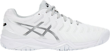a1a7e23e4f5f GEL-RESOLUTION 7 | MEN | White/Silver | ASICS US