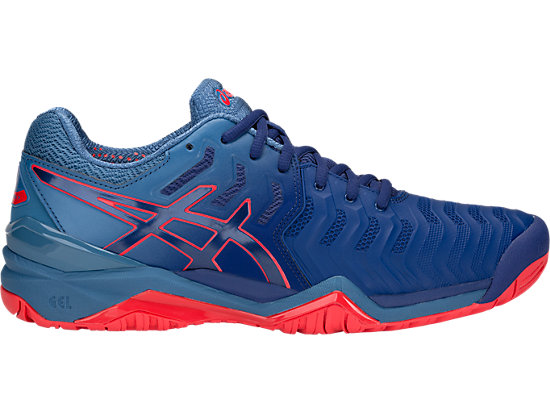 e25113406032 GEL-RESOLUTION 7 | MEN | Blue Print/Blue Print | ASICS US