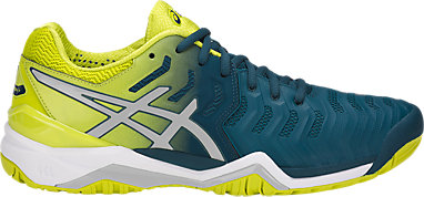 e8de654298b9 GEL-RESOLUTION 7 | MEN | Ink Blue/Sulphur Spring /White | ASICS US