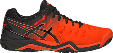 56ba6a0f084c GEL-RESOLUTION 7 | MEN | Cherry Tomato/Black | ASICS US