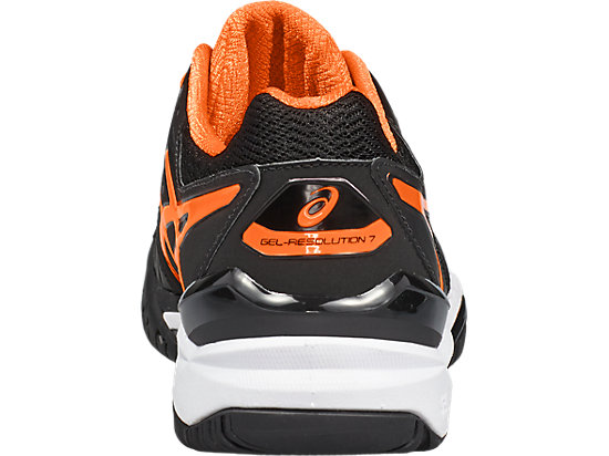 GEL-Resolution 7 pour hommes BLACK/SHOCKING ORANGE/WHITE 19 BK