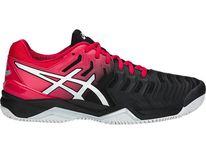 Men's GEL RESOLUTION™ 7 CLAY | BLACKSILVER | Schuhe | ASICS