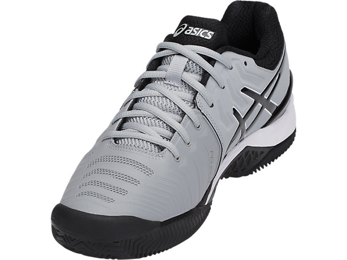 asics gel resolution 7 clay gris negro e702y 9690