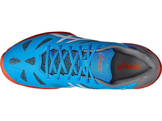 GEL-LIMA PADEL DIVA BLUE/WHITE/SHOCKING ORANGE 15