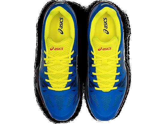 Asics Gel Fastball 3 Men's Indoor Court Shoe (Lake DriveSour Yuzu)