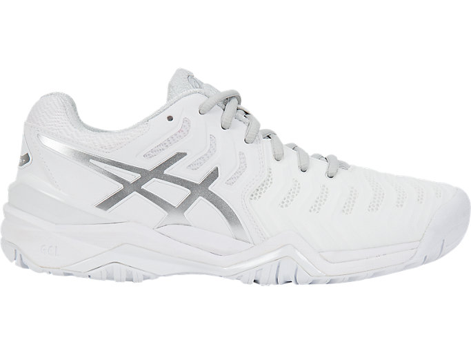Women's GEL RESOLUTION 7 | WhiteSilver | Tennis | ASICS