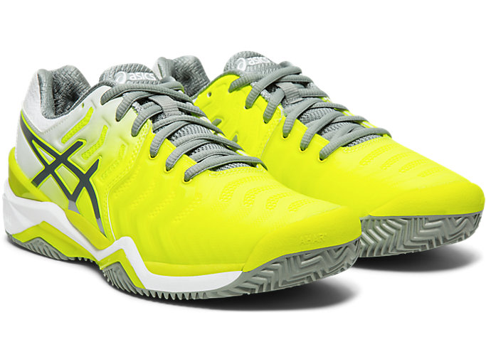 Front Right view of GEL-Resolution 7 Clay Court