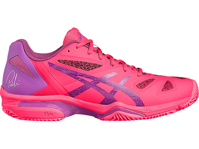 Front Right view of GEL-LIMA PADEL, DIVA PINK/ORCHID