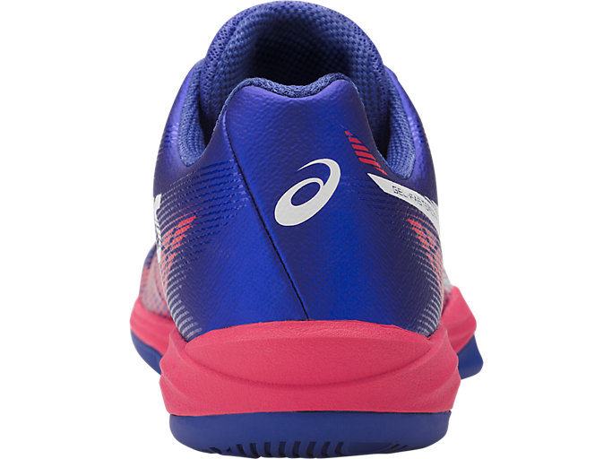 Back view of GEL-FASTBALL 3, BLUE PURPLE/WHITE/ROUGE RED