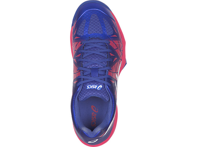 Top view of GEL-FASTBALL 3, BLUE PURPLE/WHITE/ROUGE RED