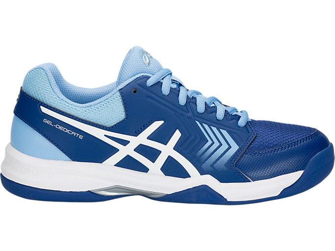 GEL-DEDICATE 5 INDOOR | Women | MONACO BLUE/WHITE | Tennisschuhe ...
