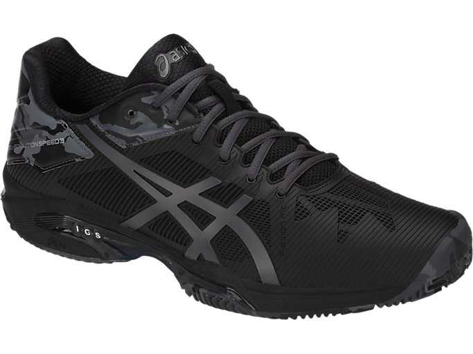 asics gel solution speed 3 clay negro