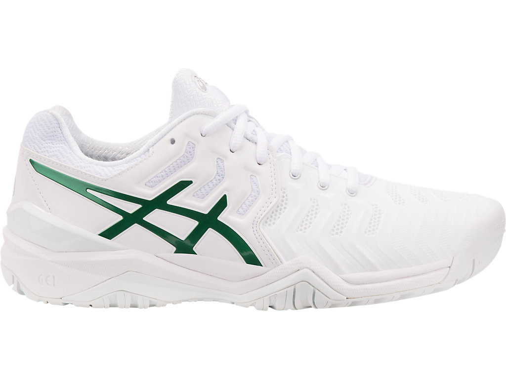 Men's GEL RESOLUTION NOVAK | WHITEGREEN | Tennis | ASICS