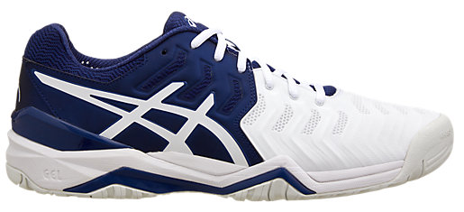 GEL-RESOLUTION NOVAK NAVY BLUE/ROYAL BLUE/WINNING WHITE 3 RT