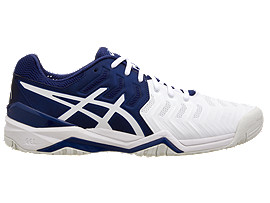 GEL-RESOLUTION NOVAK, CLASSIC NAVY/WHITE/SILVER
