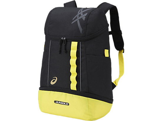 JUNIOLE BACKPACK3 L BLACK / YELLOW