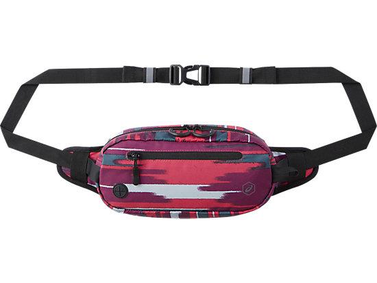 运动印花腰包XL 粉色