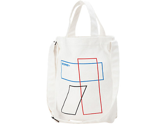 SHOPPING BAG, WHITE/GRAPHIC PRINT