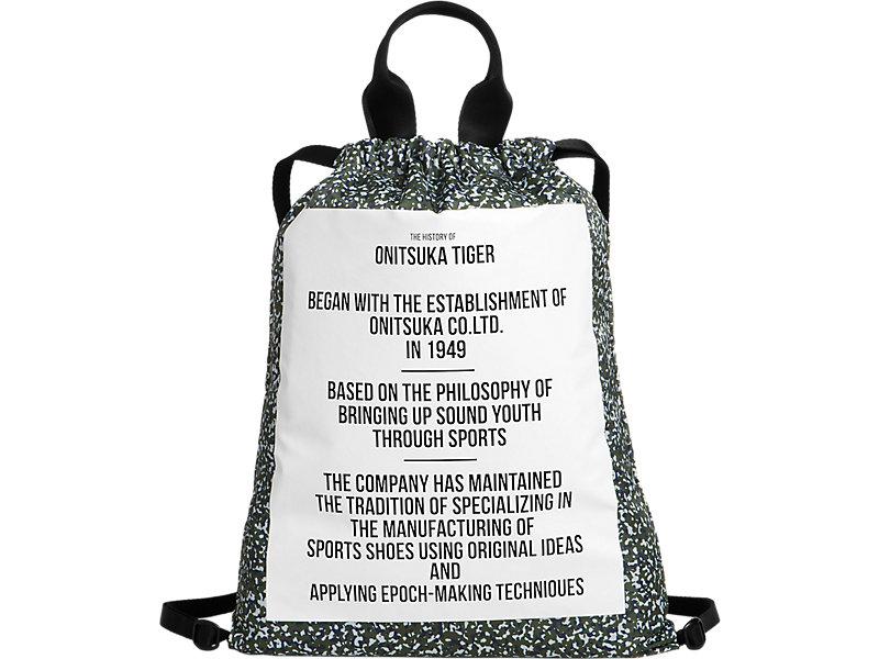 Drawstring Bag | Gray/ Khaki | Onitsuka Tiger United States