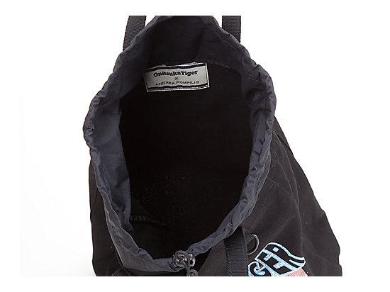 印花手提袋 黑色/蓝色