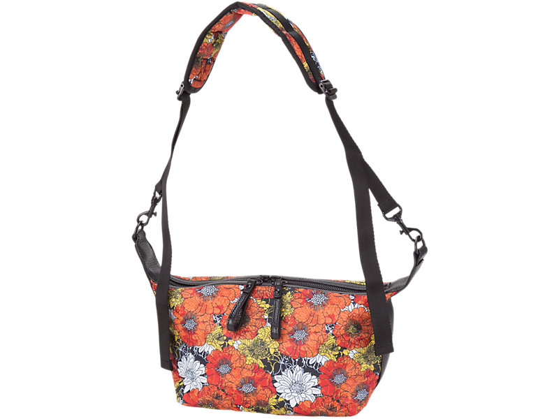 Printed Shoulder Bag Orange/White 1 FT