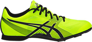 ASICS HYPER MD 6 - Spikes - safety yellow/black