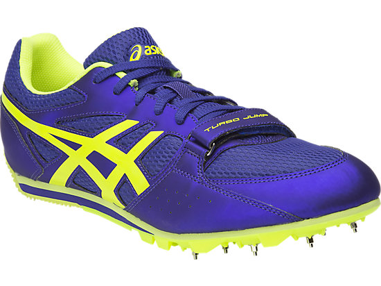 Turbo Jump 2 Asics Blue / Flash Yellow / Black 3