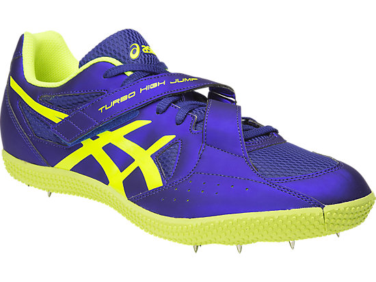 Turbo Hi Jump 2 Asics Blue / Flash Yellow / Black 3