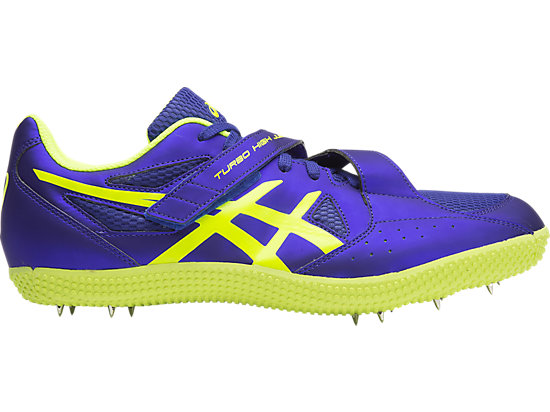 Turbo Hi Jump 2 Asics Blue / Flash Yellow / Black 15