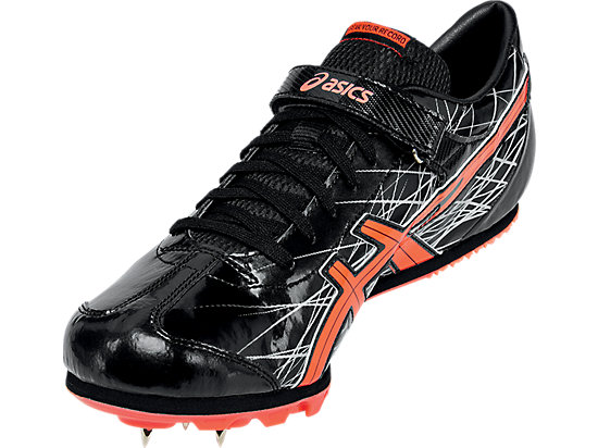 Long Jump Pro Black/Flash Coral/Silver 11