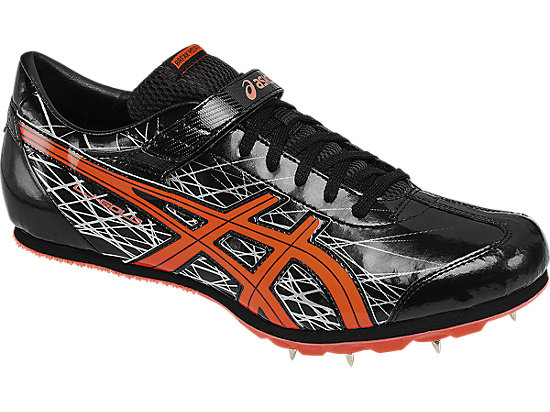 Long Jump Pro Black/Flash Coral/Silver 7