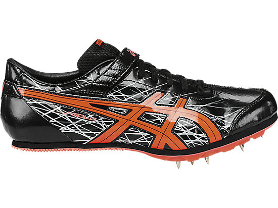 Long Jump Pro Black/Flash Coral/Silver 3