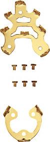取り替え用8本歯金具(ビス式)