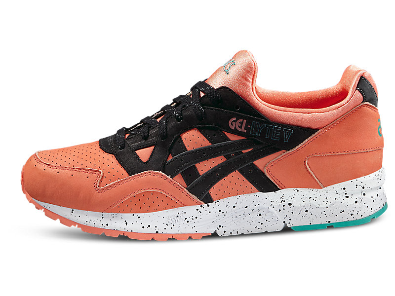 GEL-Lyte V Coral/Black 1 FR