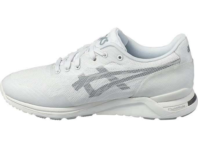 Left side view of GEL-LYTE EVO NT, White/Midgrey