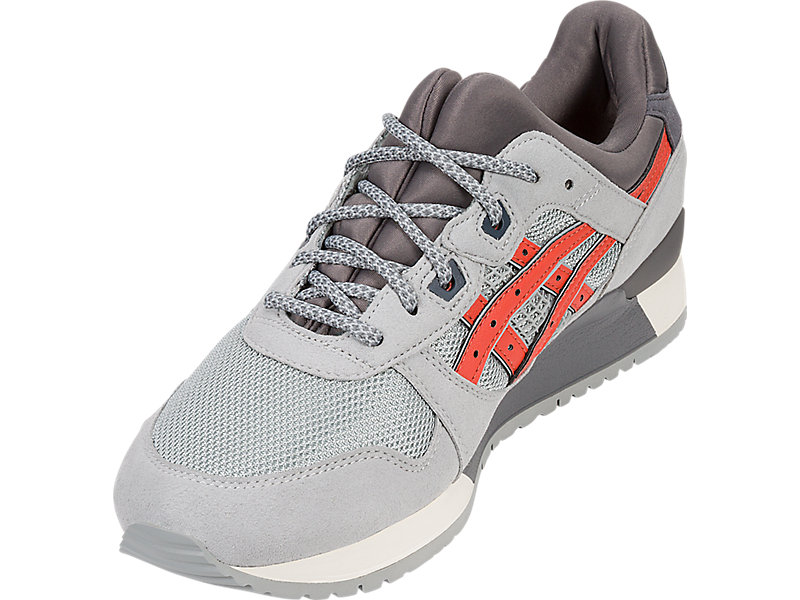 GEL-Lyte III LGT GREY/CHILI 13 FL