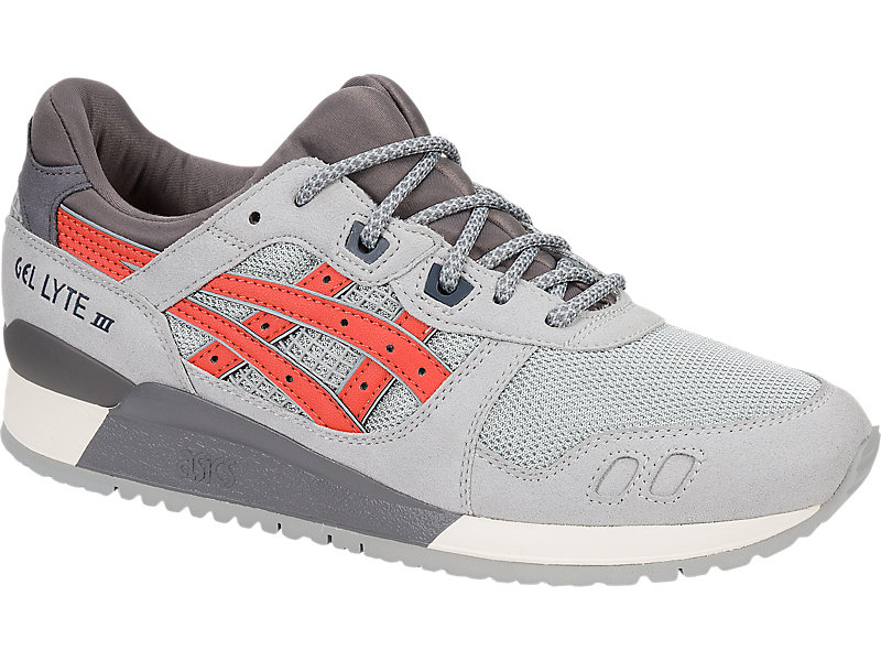 GEL-Lyte III LGT GREY/CHILI 5 FR